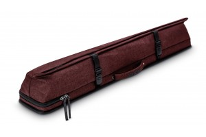 Predator billiard cue bag Urbain 2 × 4 red Hard case for billiard cues, with plenty of storage space, breathable pockets, shoulder strap and comfort grip