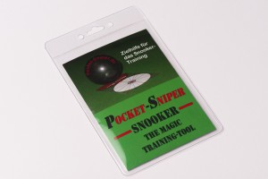 "Aiming tool ""Pocket Sniper Pro"" for snooker"