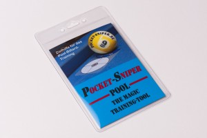 "Aiming tool ""Pocket Sniper Pro"" for pool billiards"
