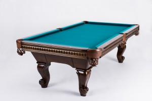 Pool Billiard Table Charles, 8 feet, brown