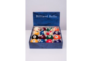 Meteor pool billiard balls, 57.2 mm, pro quality