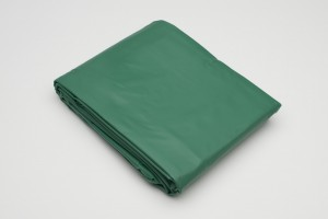 Tarpaulin for billiard tables, green, 9 feet, with weights