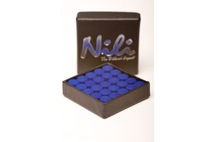 Nili standard leather, various sizes, blue, 1 piece
