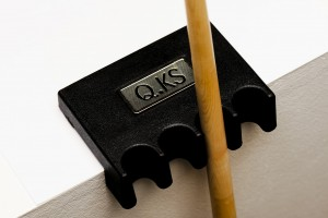 Cue holder QK-S made of plastic for 4 cues