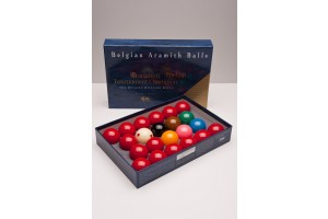 Aramith Tournament Champion TV Snooker Balls, 52 mm