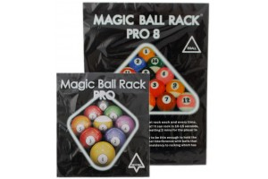 Magic Ball Rack Pro black Set of 3 for 8-Ball, 9-Ball and 10-Ball