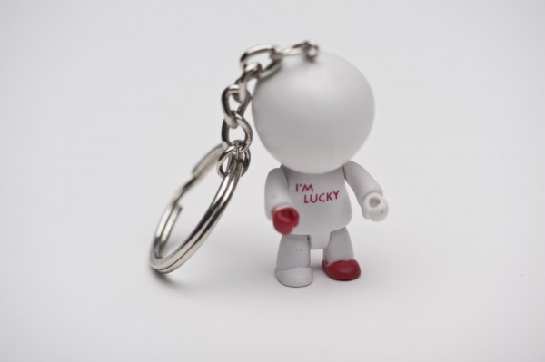 Photo Lucky keyring with different numbers, 1 piece BI080ZUB002.xx-01